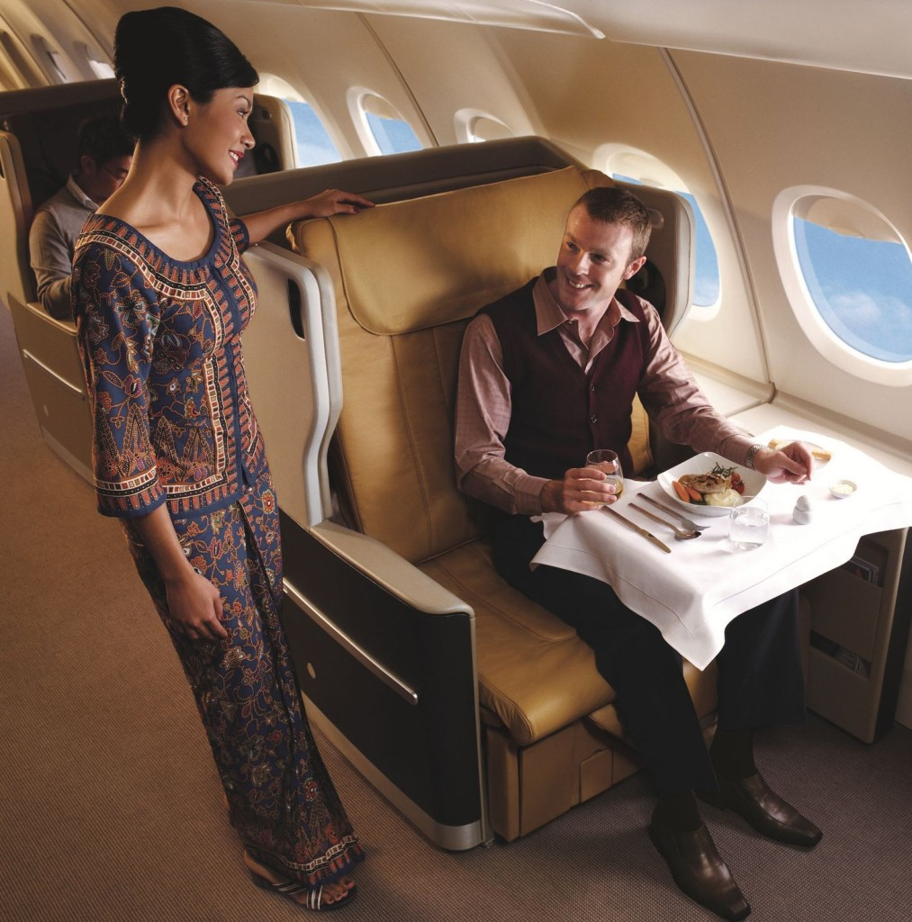 Singapore Airlines premium