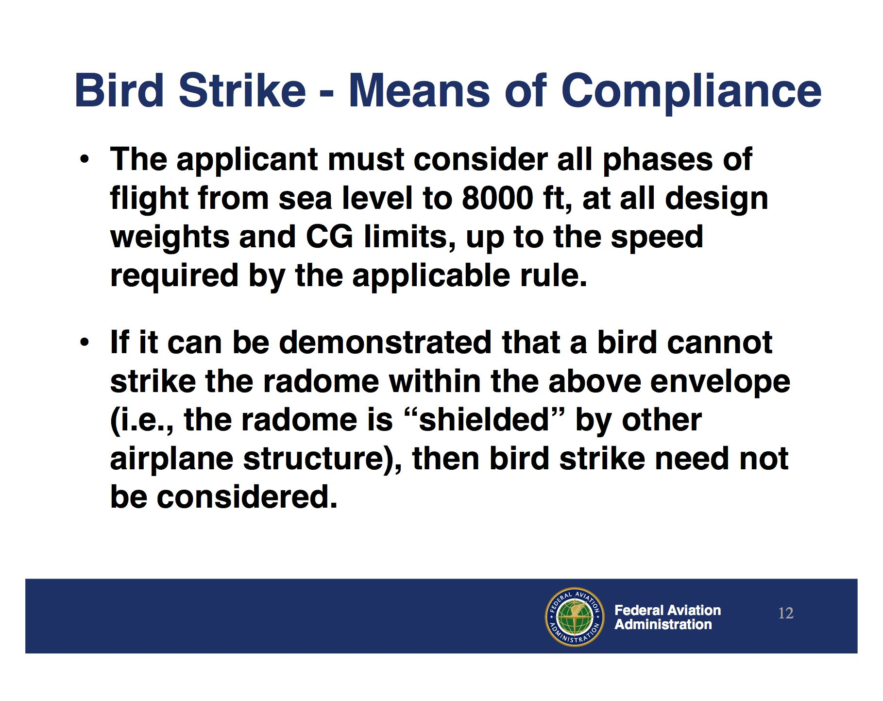 Bird strike fears big enough to warrant serious FAA