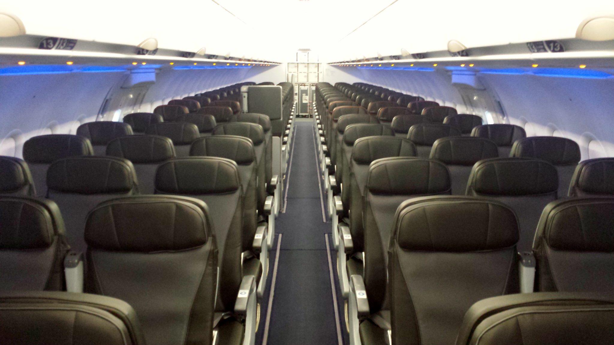 Jet Blue Airlines Interior