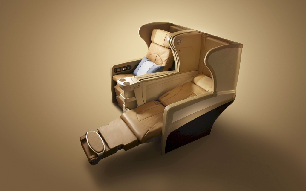 Angled Lie-Flat - Singapore Airlines