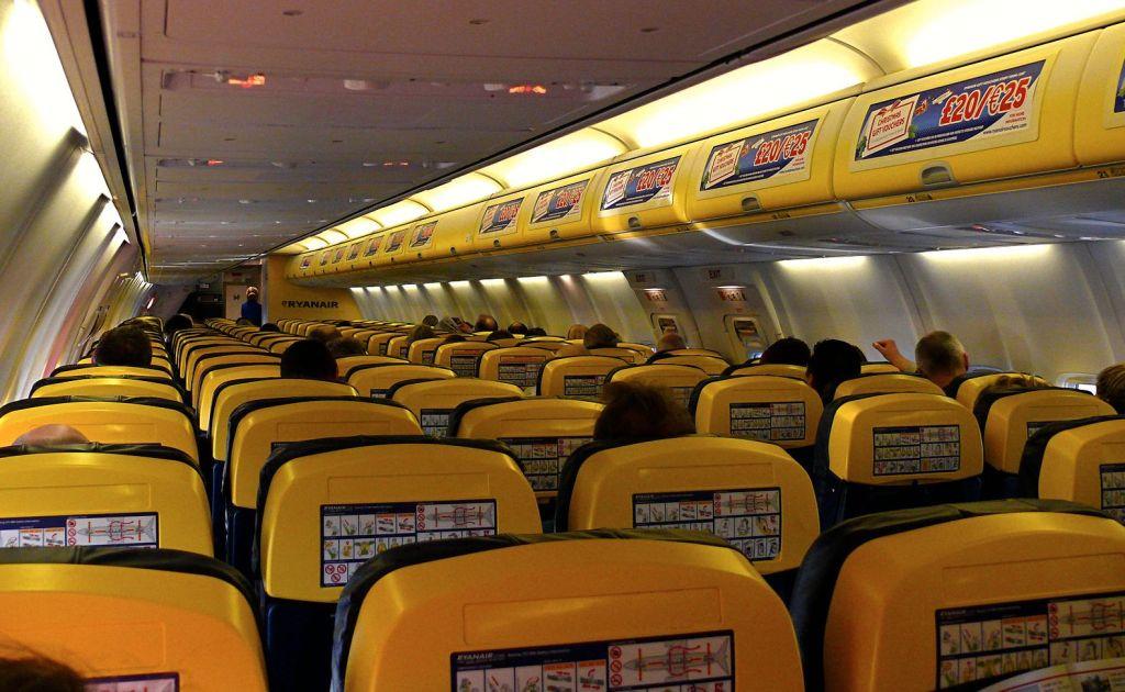 Ryanair seats