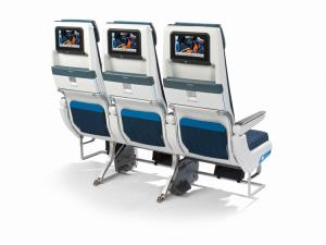 KLM Recaro 3710 economy class 777-200 seat back