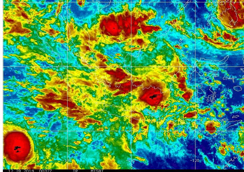 Infrared - image from US NOAA
