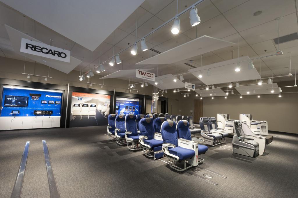 737 Interior Configuration Studio Grand Opening