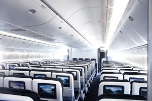 Seat Layout - 3-4-3 on a 777 - Air New Zealand 777-300ER