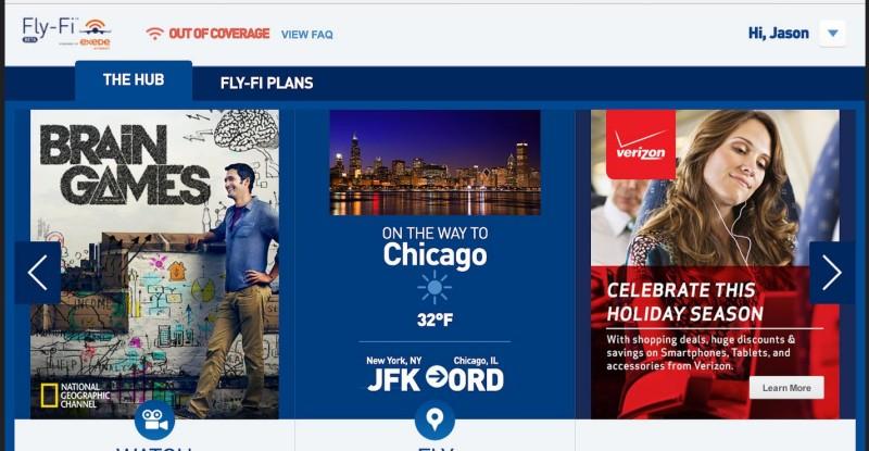 JetBlue Fly-fi