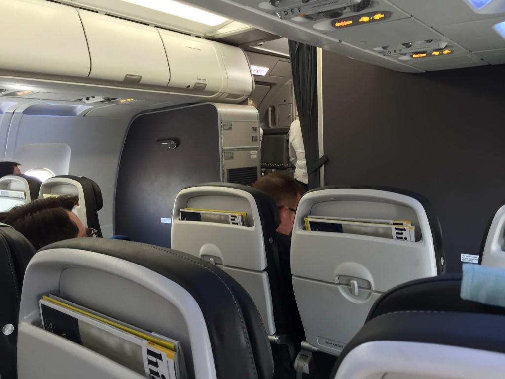 John Walton - British Airways new Club Europe Pinnacle - cabin-wide