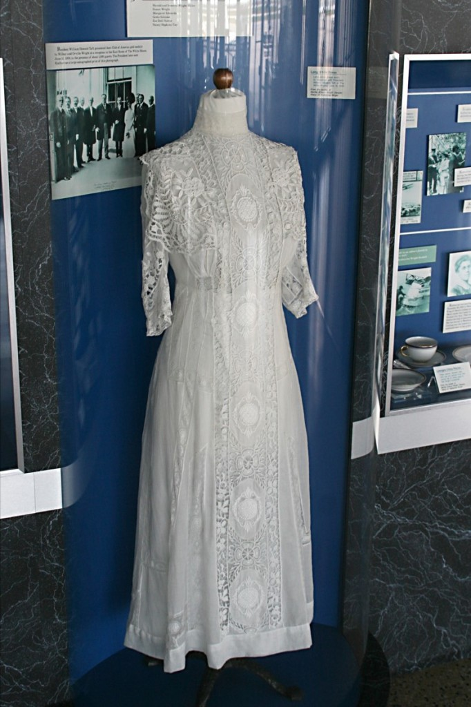 Katharine Wright's dress_worn to a reception for the Wright Brothers at the White House_courtesy IWASM