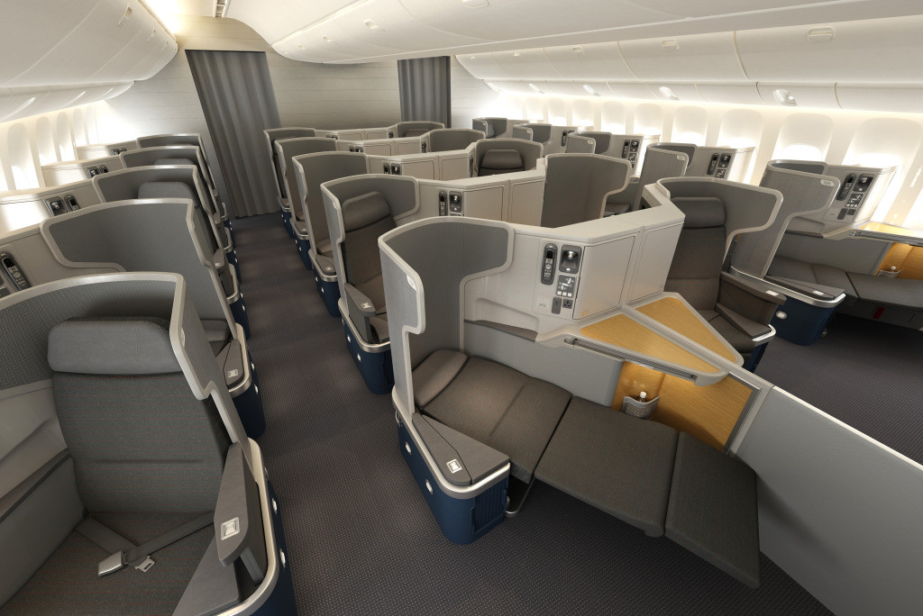 American Airlines' Cathay Pacific-designed Boeing 777-300ER seat