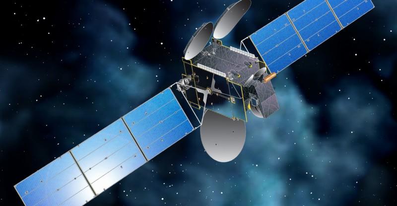 Rendering of Intelsat Ku satellite