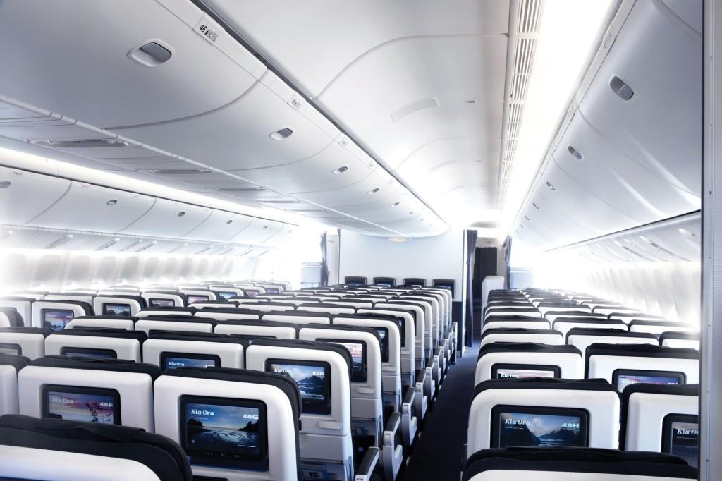 air new zealand economy skycouch 777-300er 77w