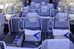 Air Astana Boeing 767-300ER Vantage seat business class TSE-ALA - IMG_9387