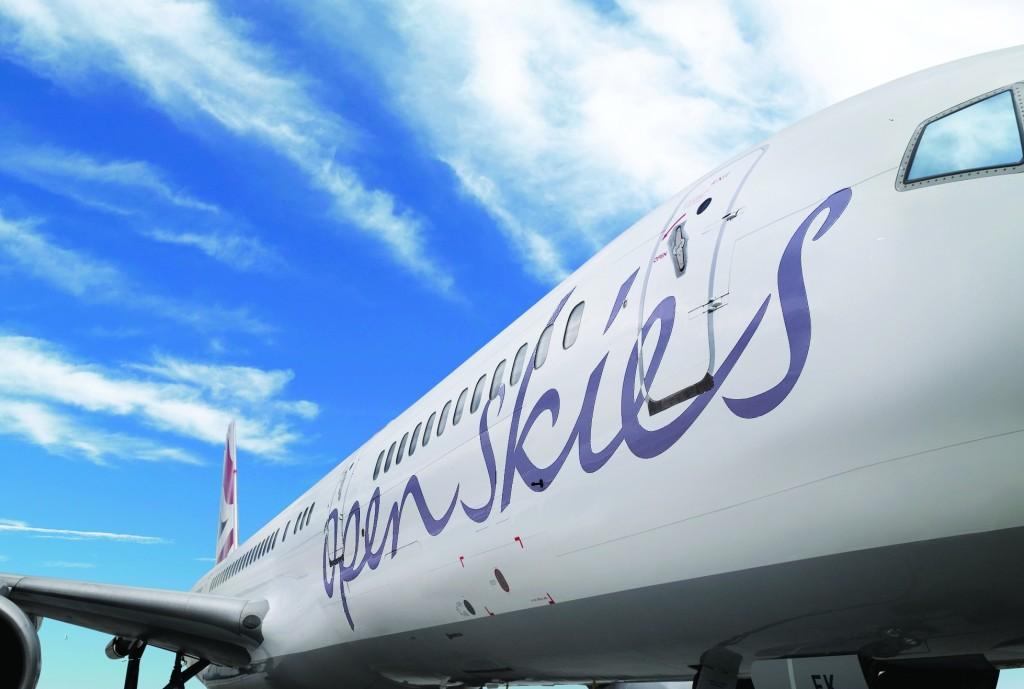British Airways' OpenSkies operates a fleet of three Boeing 757-200 aircraft