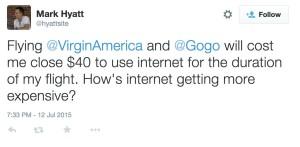 Gogo tweet