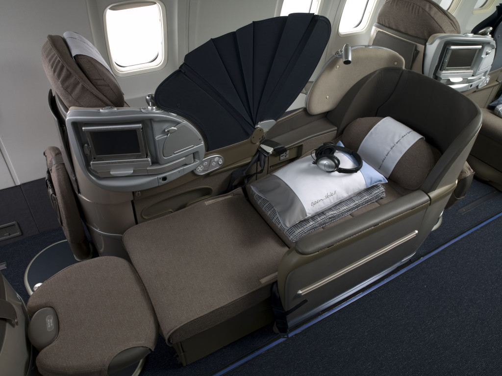 OpenSkies Biz Bed - British Airways BA old 2000 Club World --BA