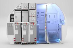 Space-Flex v2 lavatory view_