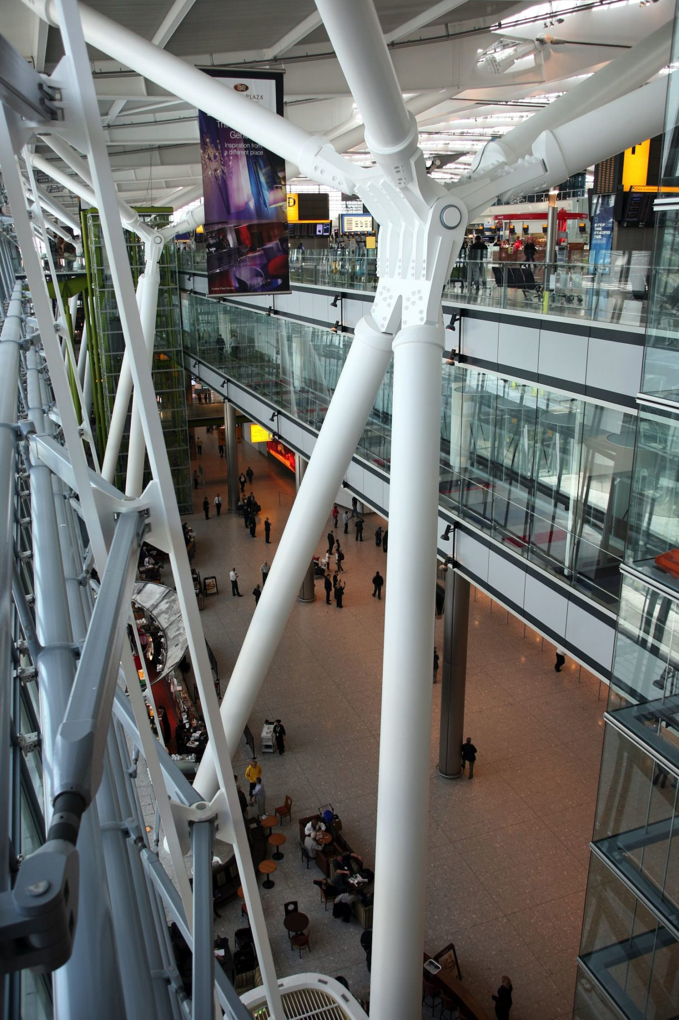 Terminal 5 interior.