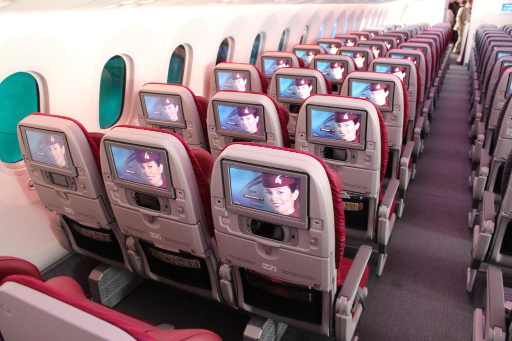 Qatar Airways Boeing 787 - PAS15 Paris Air Show - JW - IMG_8879