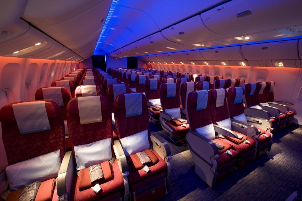 Seat - Economy - Qatar Airways Boeing 777