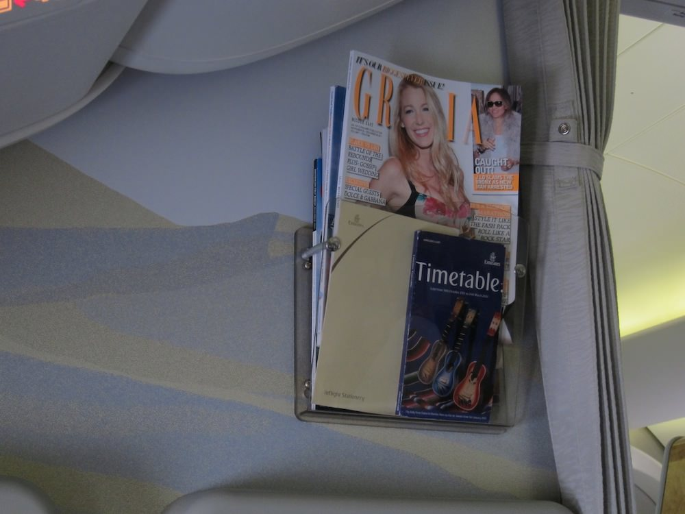 All too often, the only difference in IFE between economy and business or first is the free magazines