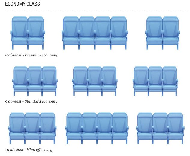 A350 seating