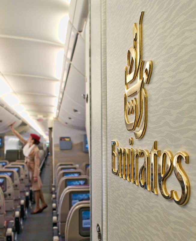 Emirates' latest A380 configuration holds 617 passengers. Image - Emirates
