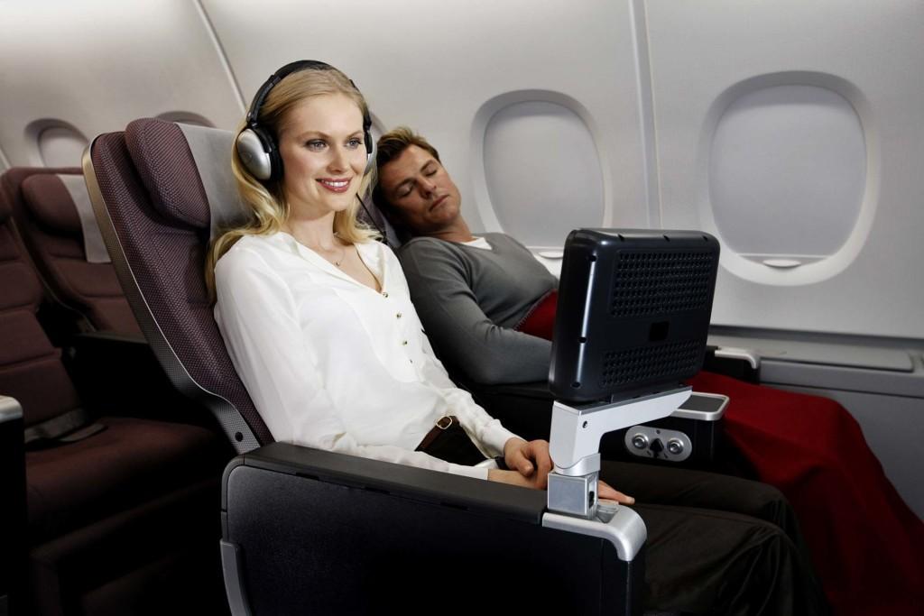 FOR TRAVEL -- Premium Economy Seats -- Qantas Airlines HANDOUT