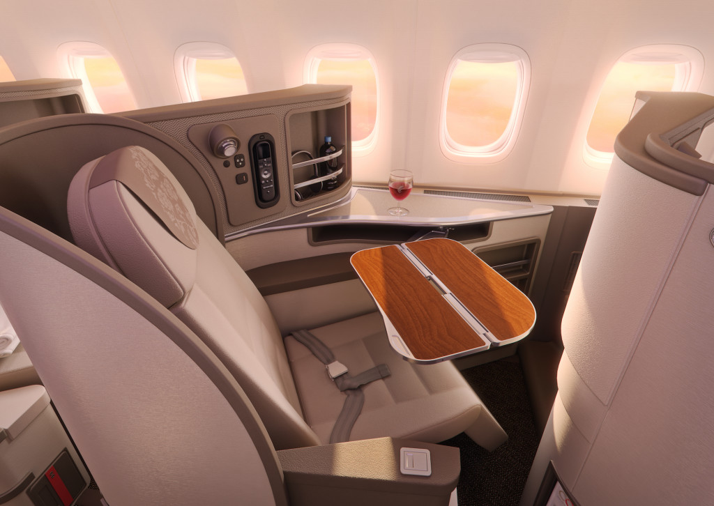 With a world-class business class seat, will China Eastern have world-class inflight Internet_ Image - China Eastern