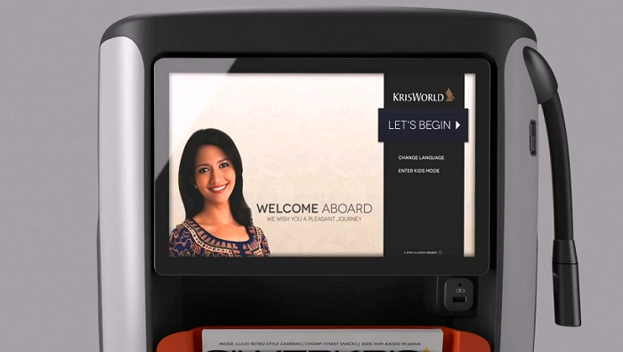 Singapore Airlines' premium economy IFE is large, at 13.3 — but no larger than Emirates' latest economy class glass. Image - Singapore