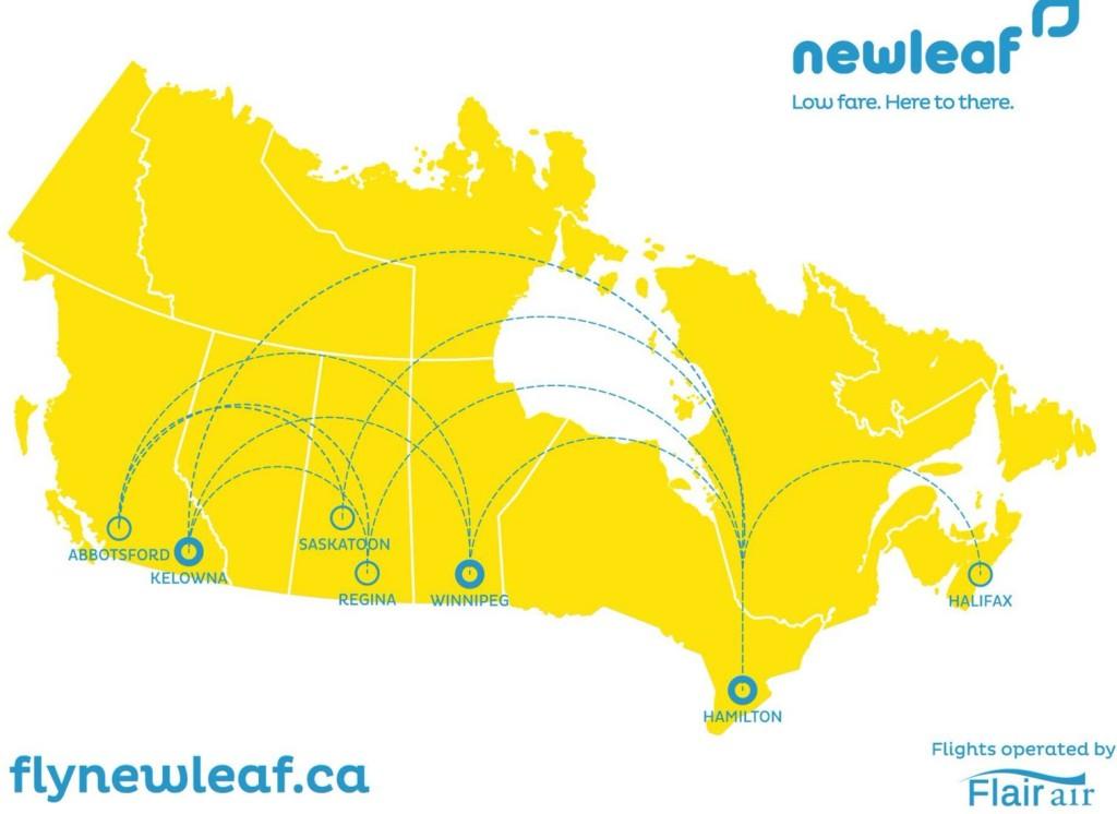 NewLeaf map