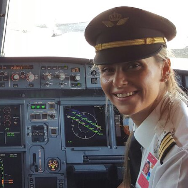 Alia Teal flies for Royal Jordanian Air