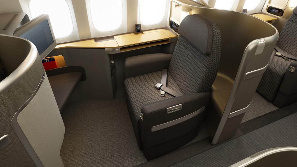 American's 777-300ER first class needs significant investment to differentiate it from economy. Image - American Airlines