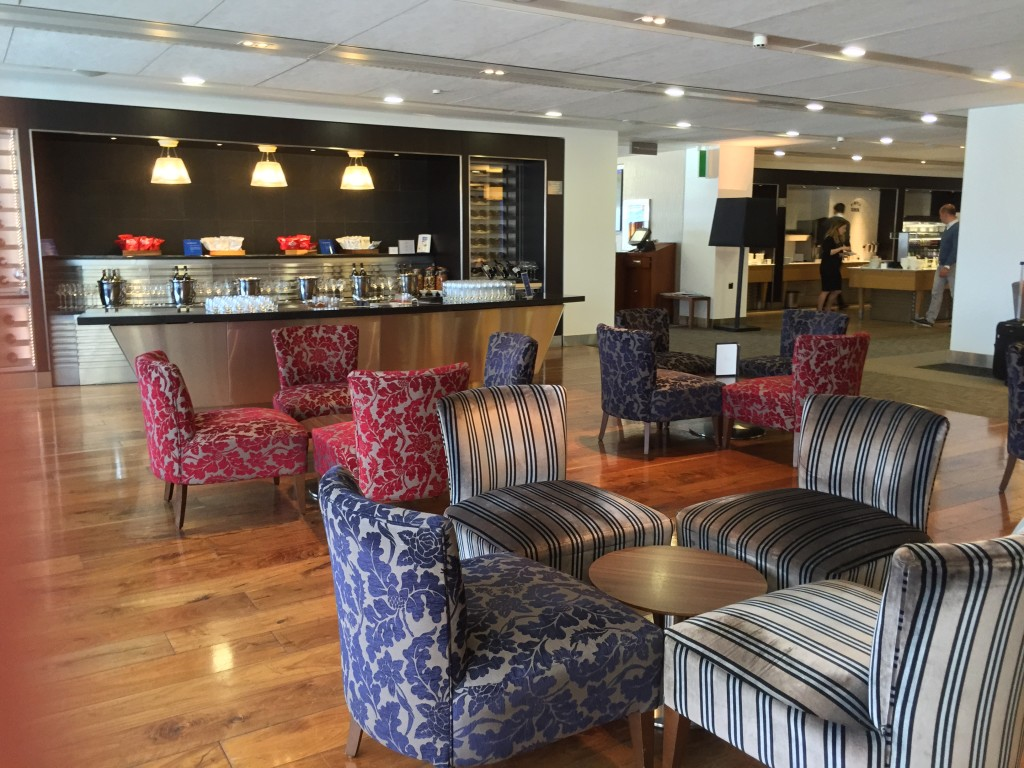 British Airways' Galleries First lounges (here at Heathrow T3) are for first class passengers and Emerald