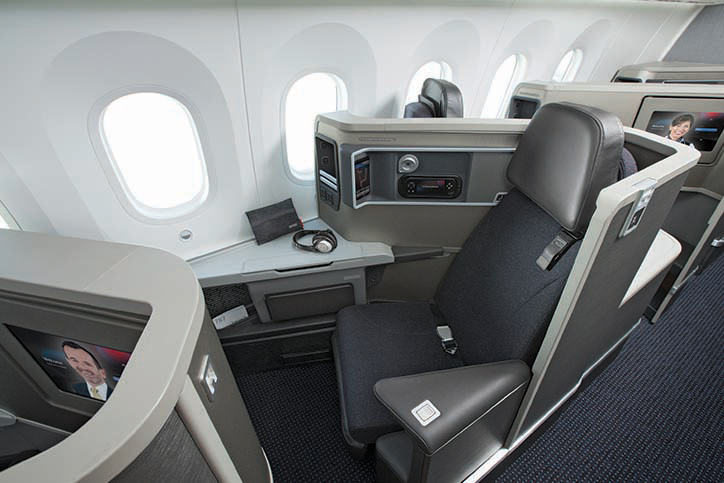 The trick will be rolling out the PaxEx improvements to business class. Image - American Airlines