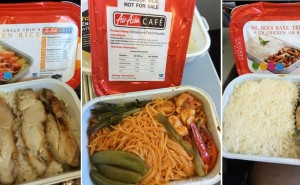 Some of the many meals we ate on board AirAsia