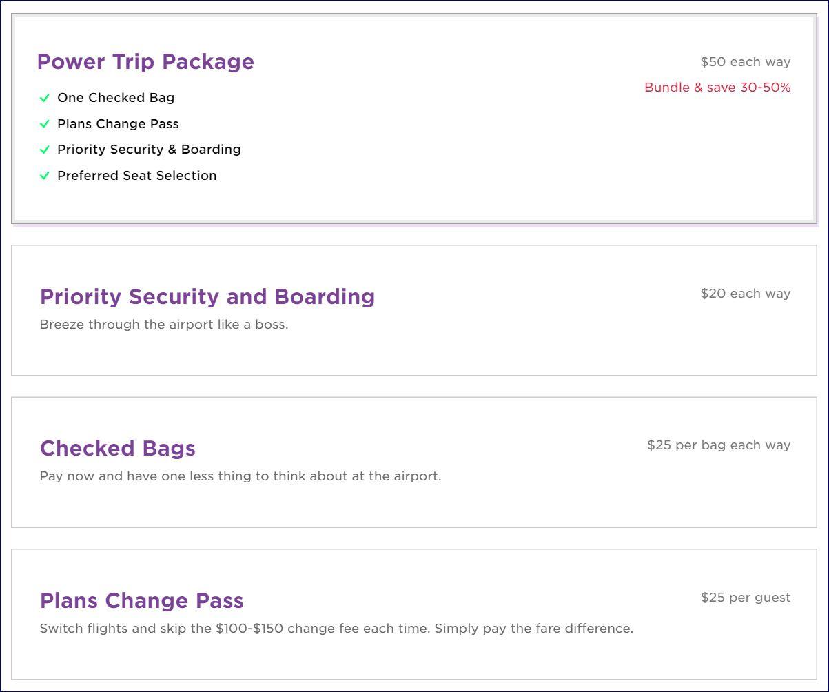 Baggage Fees For United Virgin America Bundles Ancillaries Again Under Power Trip