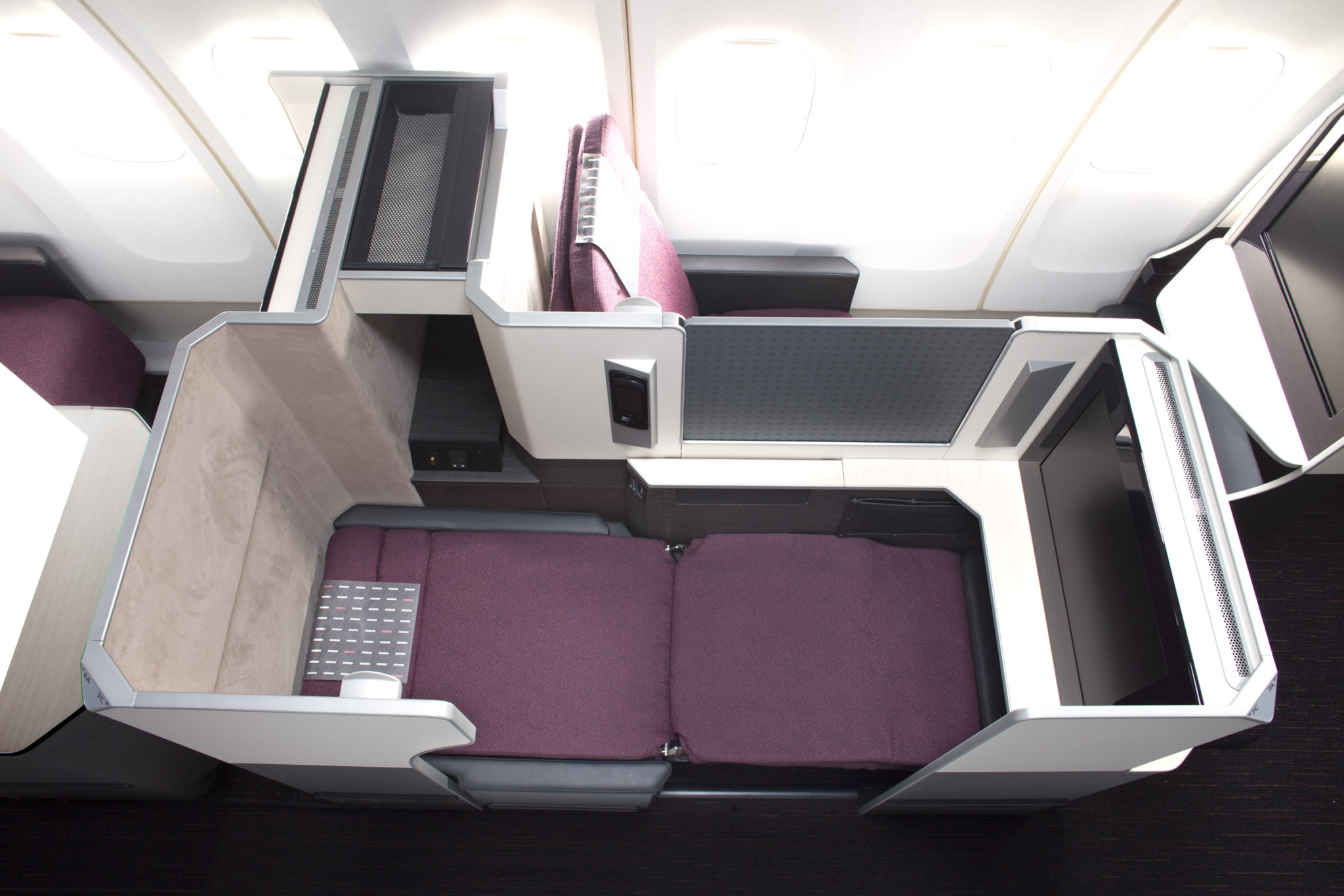 JAL uses the B_E Apex seat in a 2-3-2 configuration. Image - JAL