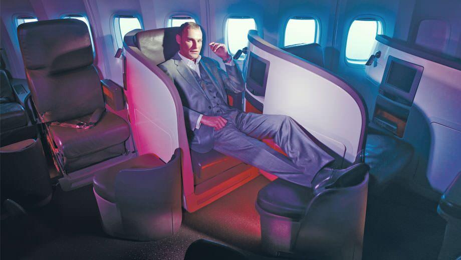 When Virgin Atlantic introduced the business class herringbone in 2003