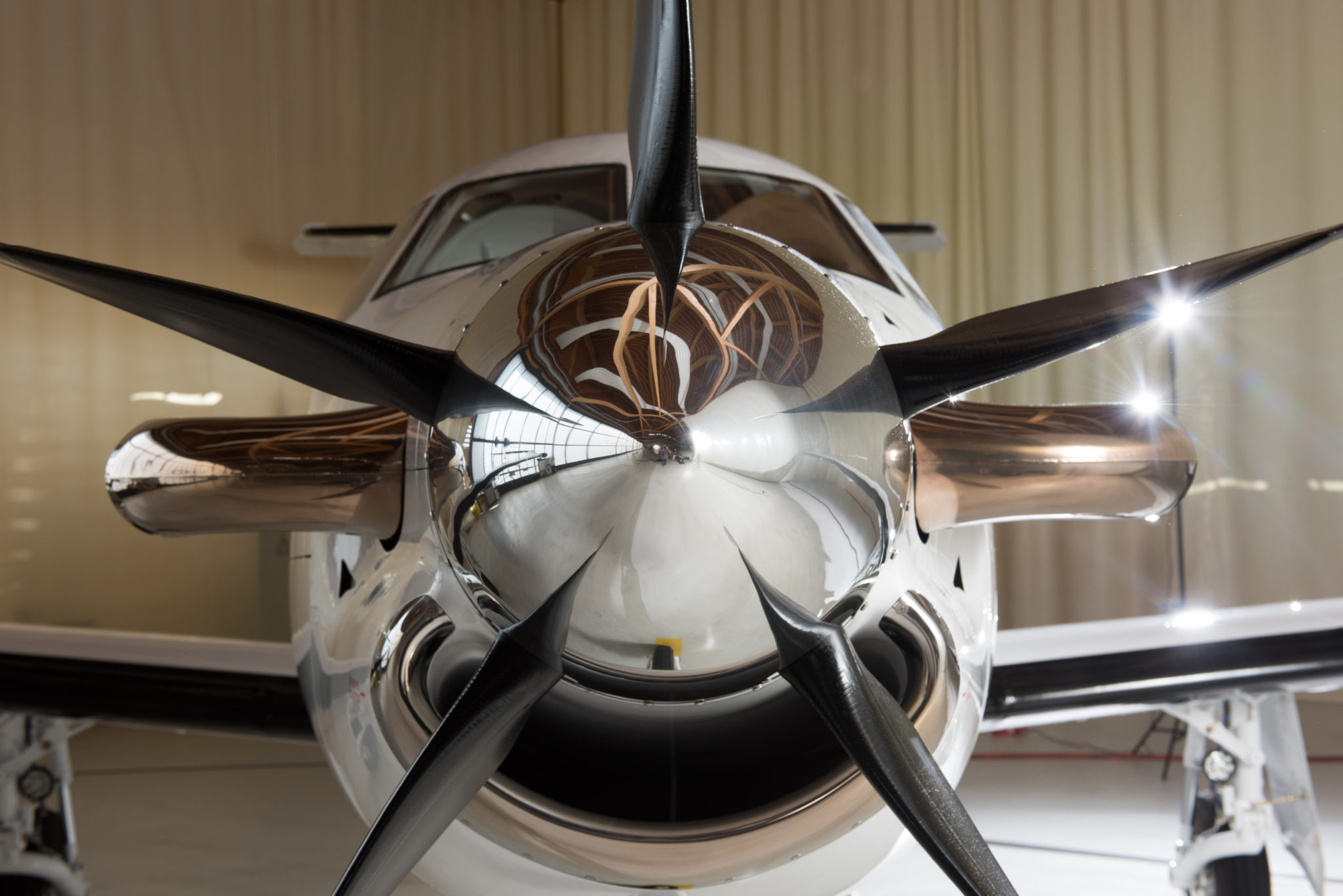 The propeller is not to be mistaken for old fashion as these planes can hold their own in the world of usefulness.