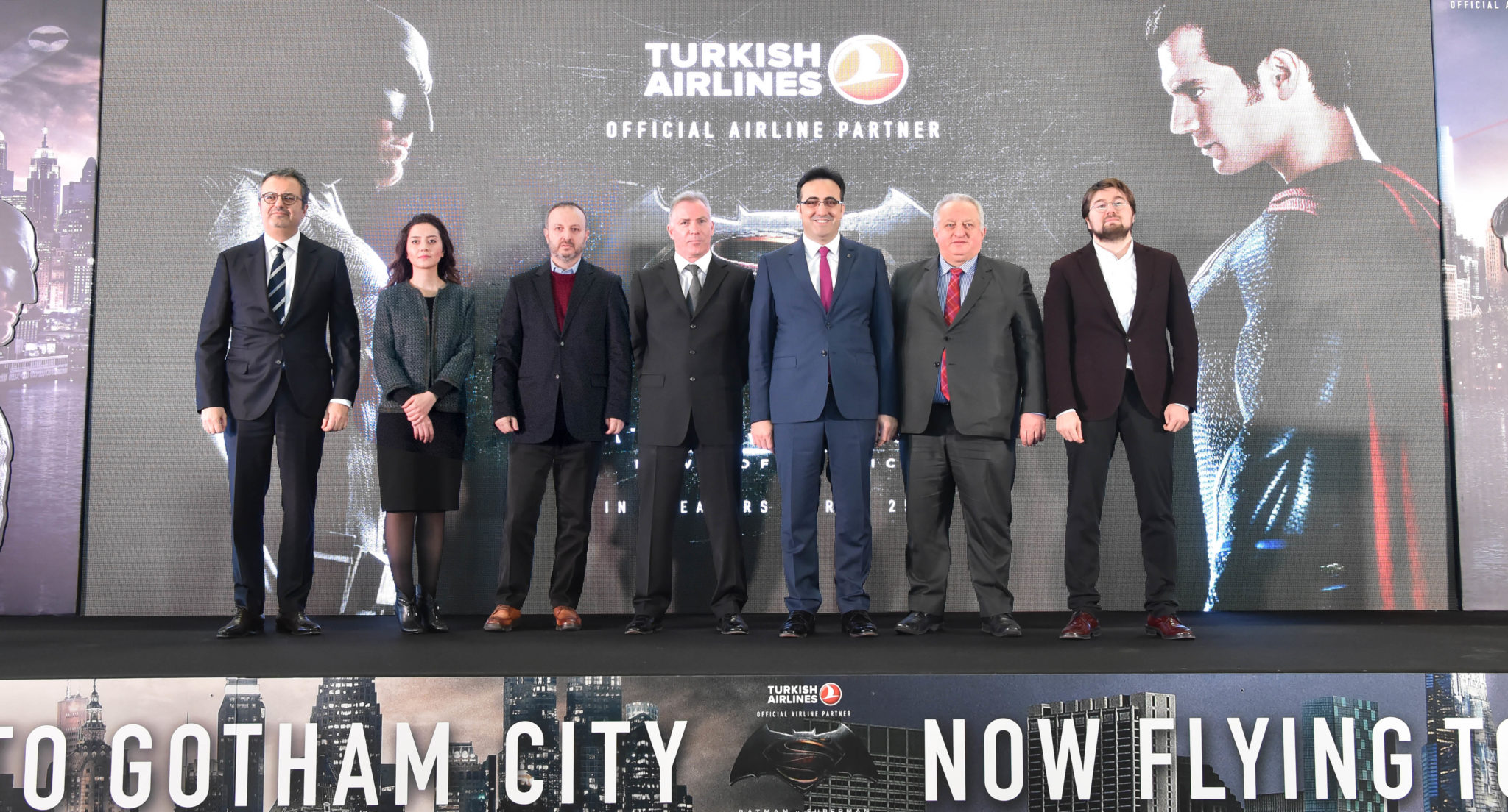 Turkish Airlines Batman vs Superman Press Conference