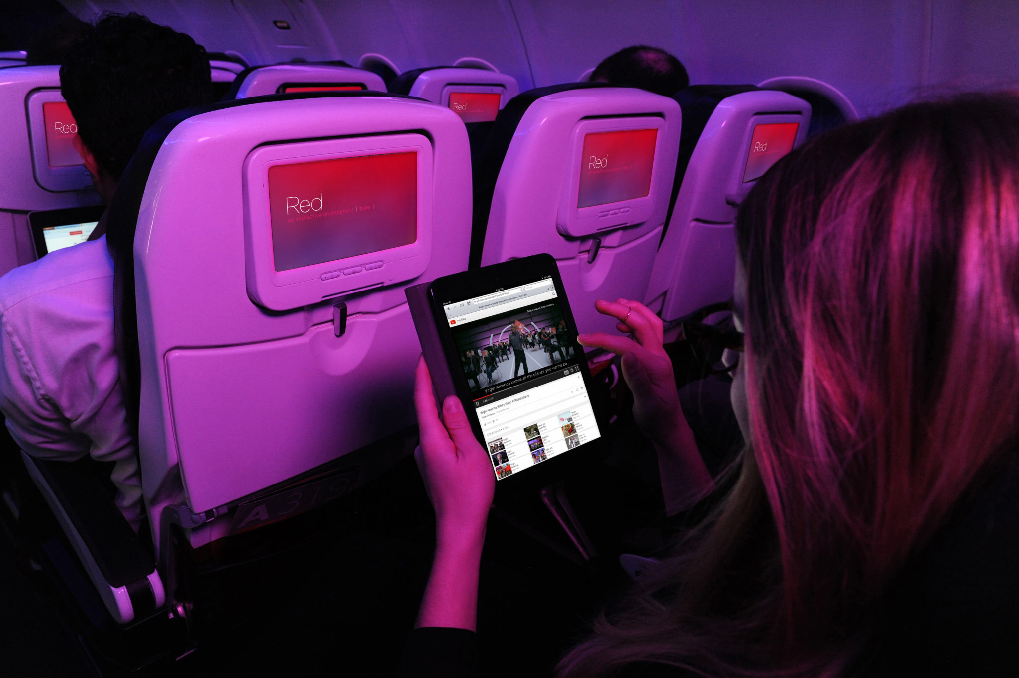 Inmarsat and Virgin America are siding on the