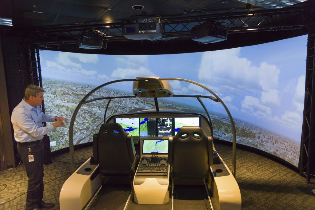 Advanced Technology Flight Simulator Lab 3. Image: Honeywell