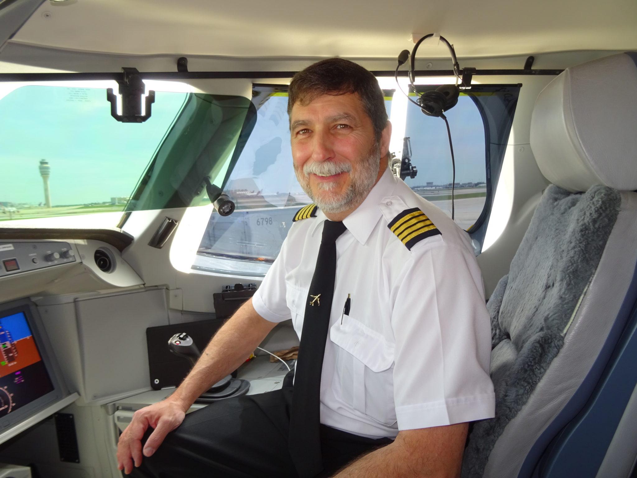 Capt. Bernard Pichette Bombardier CSeries test pilot