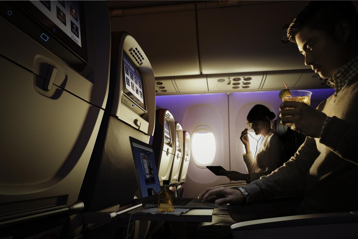 Delta Comfort+ extra legroom economy seats. Image - Delta