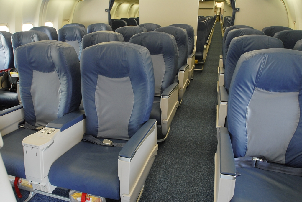Delta's domestic 767 aircraft see 2-2-2 layout --- will premium economy be the same? Image: Delta
