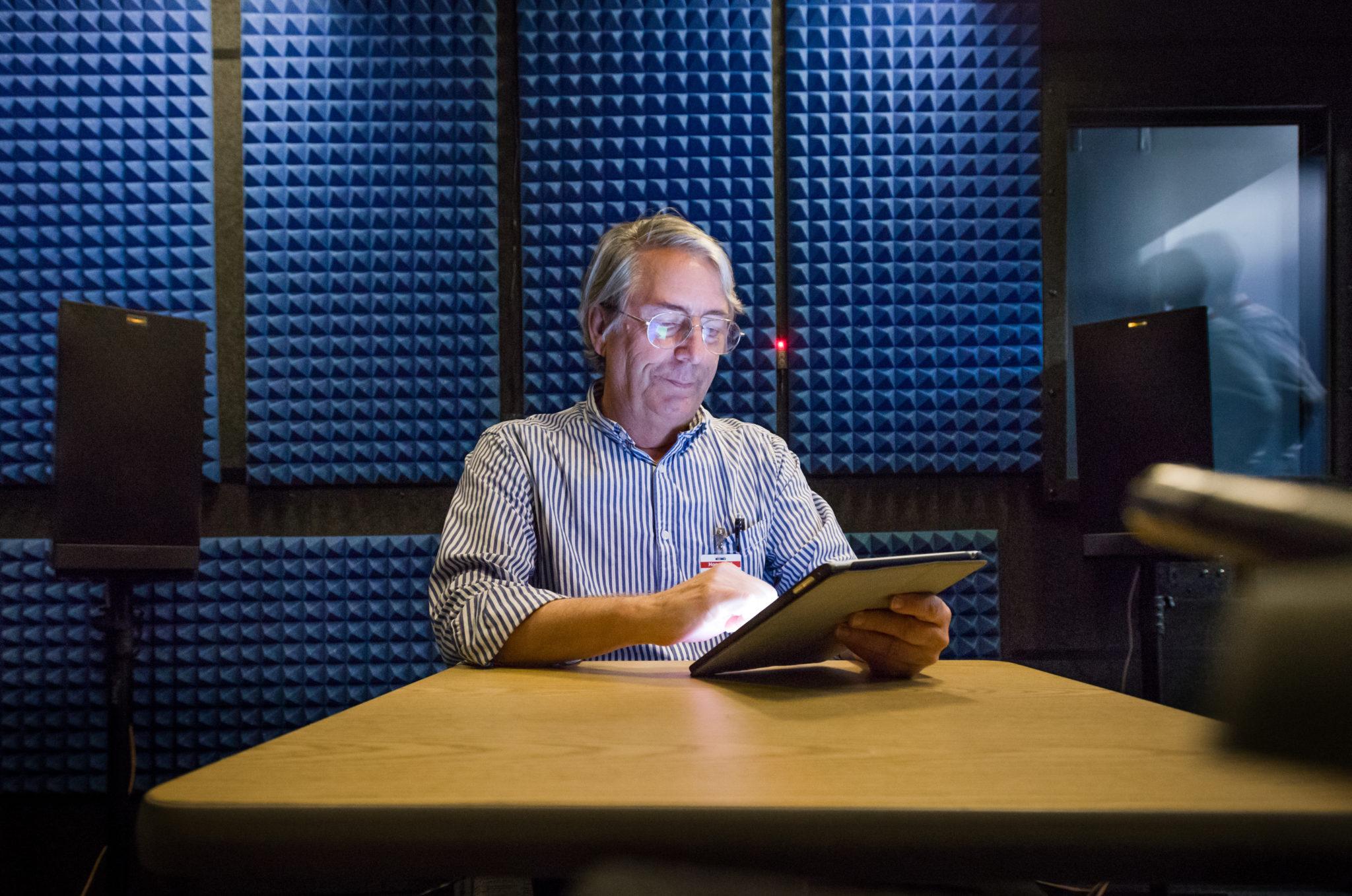 Honeywell Aerospace Speech Recognition Lab. Image Honeywell