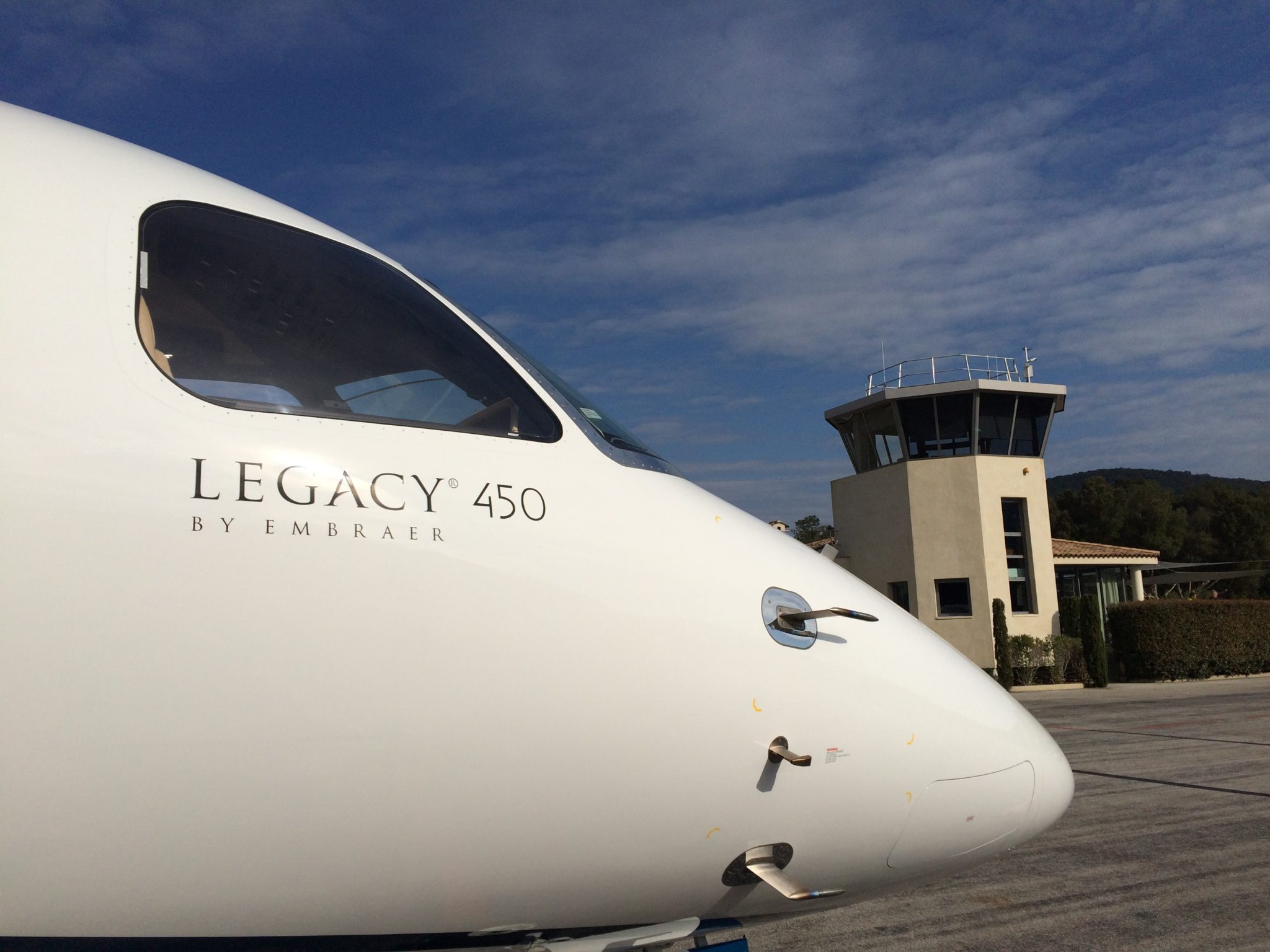 Legacy 450 to become largest aircraft at La Mole after key