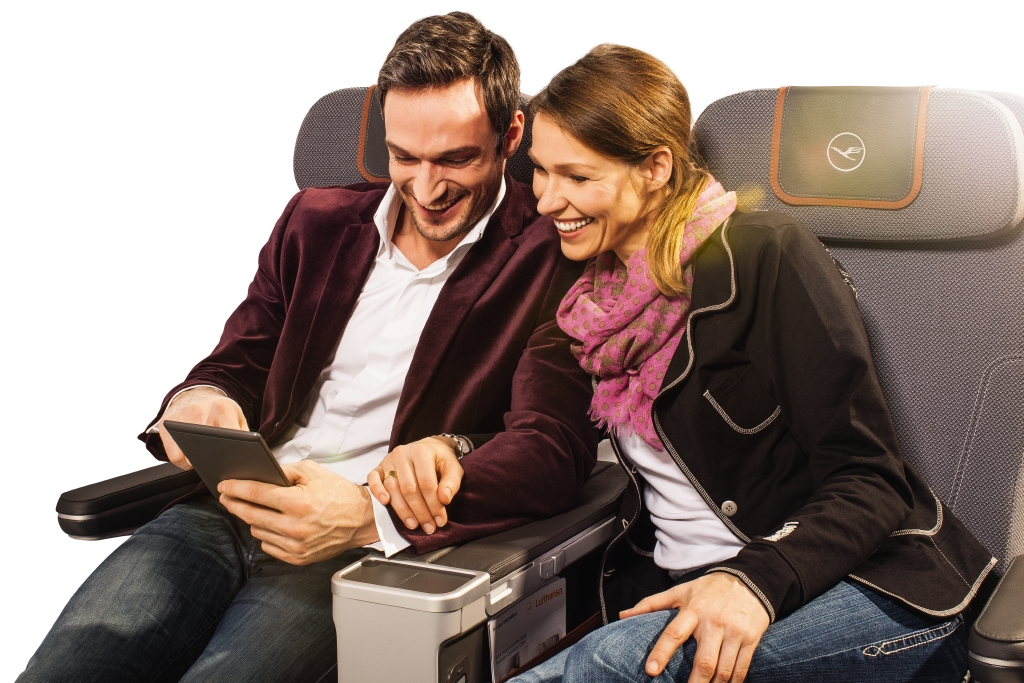 Passengers win when the premium economy offering is clear and differentiated. Image: Lufthansa