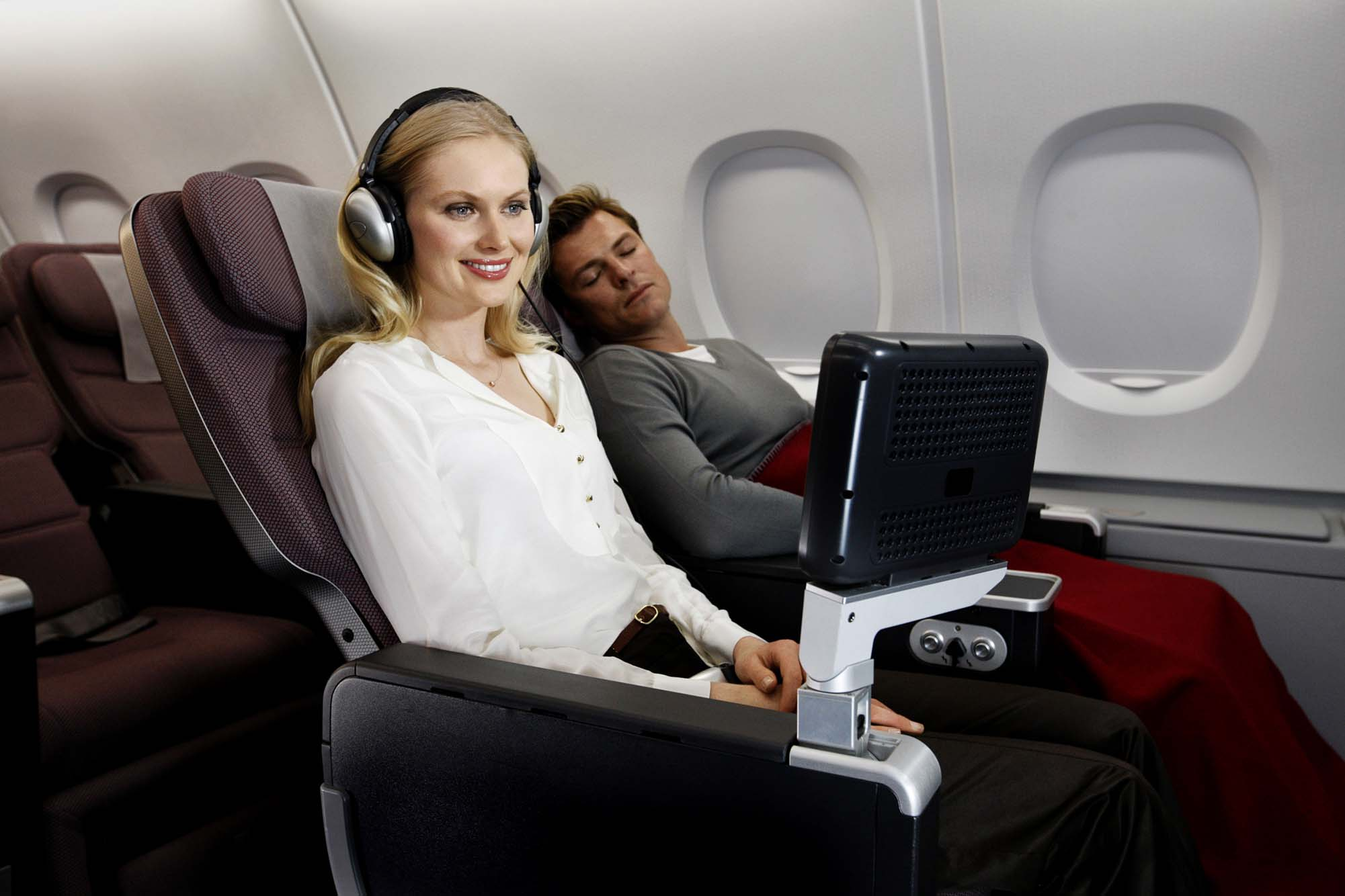 Premium economy demand is growing as airlines upgrade business and downgrade economy. Image: Qantas