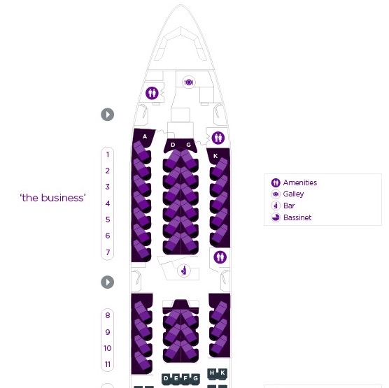 Virgin Australia 777 300er Seat Map.Virgin Australia S Refit 777 300er The Ideal Longhaul